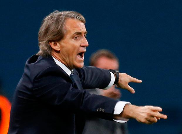 Zenit St. Petersburg coach Roberto Mancini. Photo: Reuters