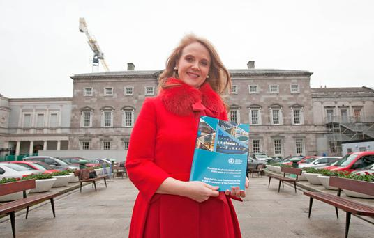 Catherine Noone has been praised for her handling of the abortion debate Photo: Gareth Chaney Collins