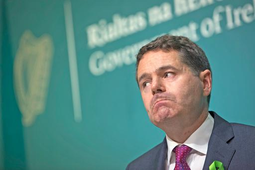 Finance Minister Paschal Donohoe said he will look at regulations. Photo: Fergal Phillips