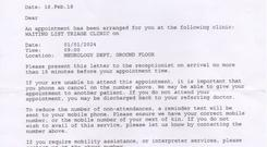 Matthias Kausch, who moved here from Germany, was sent an appointment letter for St Vincent's Hospital in 2024