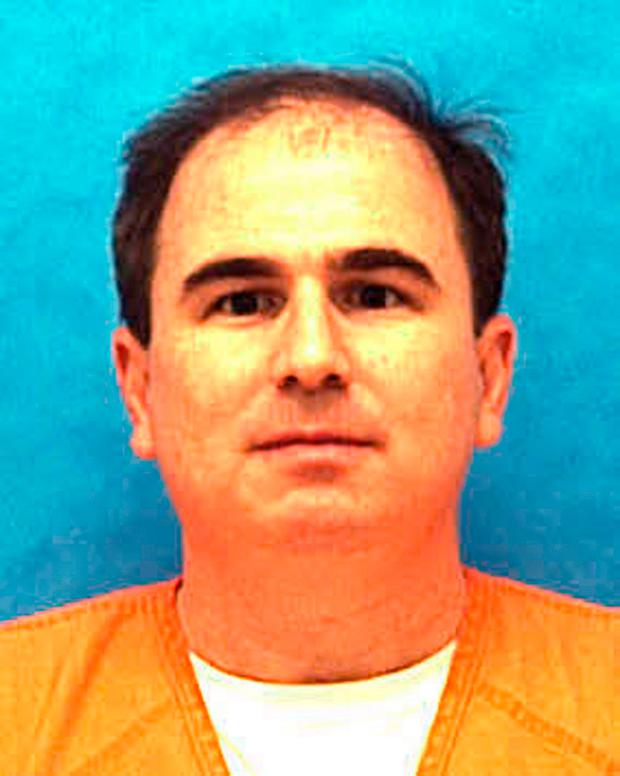This undated photo made available by the Florida Department of Law Enforcement shows Eric Scott Branch in custody. Florida is scheduled to execute Branch Thursday, Feb. 22, 2018, for raping and killing a college students in 1993, so he could steal her car. (Florida Department of Law Enforcement via AP)