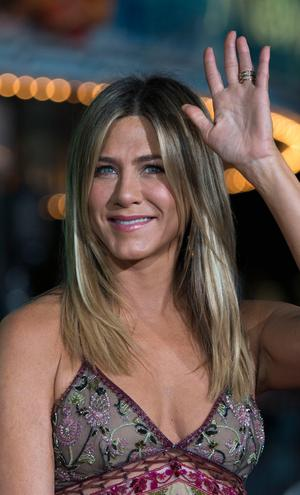 Actress Jennifer Aniston arrives for the premiere of
