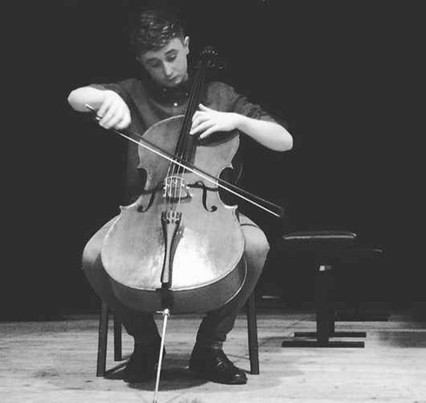 Jayden Lamcellari started to play the cello when he was just three