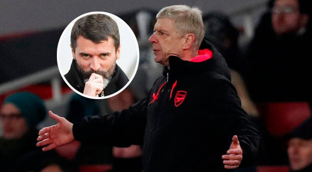 Roy Keane not impressed by Arsenal after a lacklustre display in Moscow