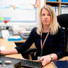 Julie Thomas, the head teacher of Clandeboye Primary School