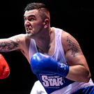 Gorey's Niall Kennedy hopes to take a springboard victory tonight against Aaron Travers. Photo: Sportsfile