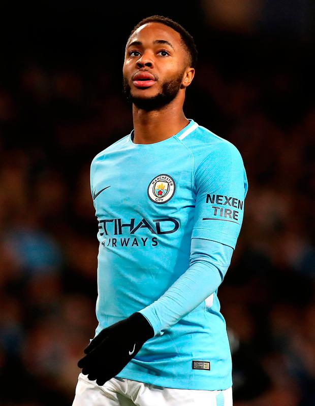 Raheem Sterling. Photo: Martin Rickett