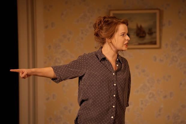 Catríona Ennis as Sarah in Porcelain. Photo: Ros Kavanagh