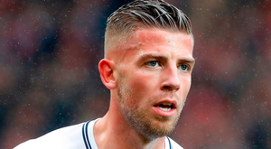 Rumour: Alderweireld. Photo: PA Wire