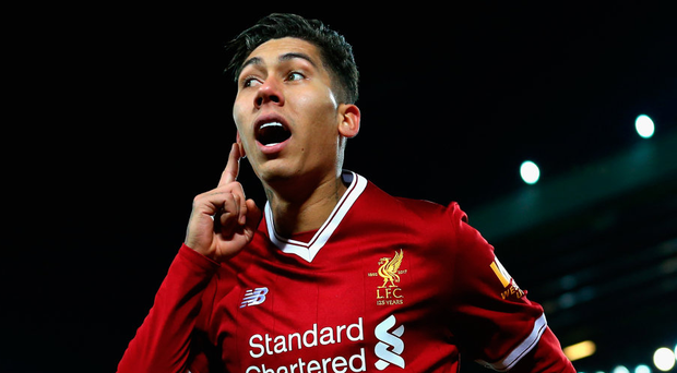 Roberto Firmino of Liverpool. Photo: Getty Images