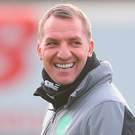 Celtic boss Brendan Rodgers Photo: Getty