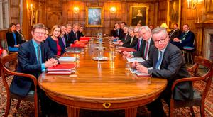 Top members of the UK cabinet gathered this week at Chequers, the country residence of Prime Minister Theresa May, to discuss Brexit. Photo: Getty Images