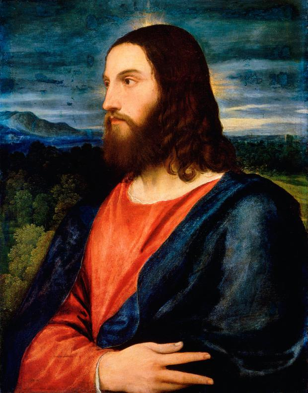 A bit of a trim: In reality, Christ would have probably had shorter hair and beard than in this painting by Titian