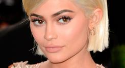 Kylie Jenner: expensive tweet. Photo: PA