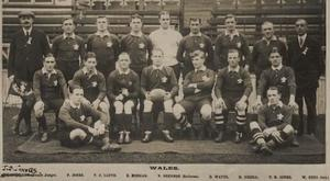 The Welsh team in 1914