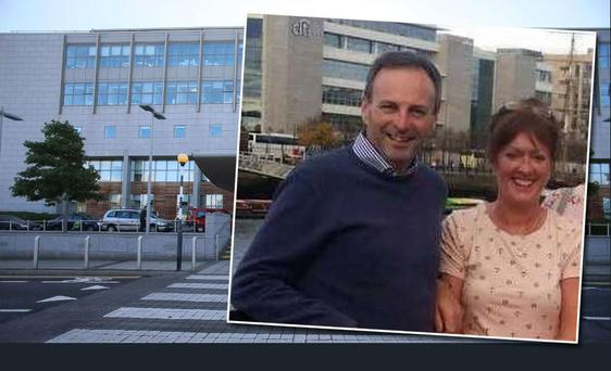 Geraldine O'Reilly Bolger, a nurse at St Vincent's Hospital in Dublin, saved her husband Derek's life last summer after he took ill at home