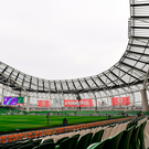 A general view of the Aviva Stadium ahead of the NatWest Six Nations Rugby Championship match between Ireland and Wales