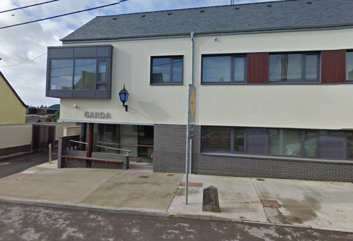 Ballymote garda station in Sligo, where a 31-year-old man is currently being held Photo: Google maps