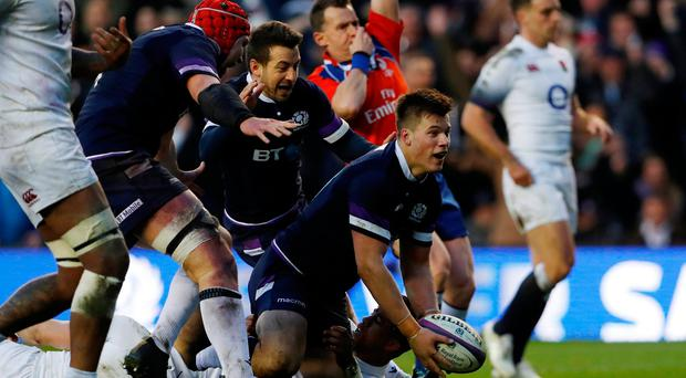 Six Nations: Scotland claim historic 25-13 win over England