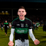24 February 2018; Luke Connolly of Nemo Rangers celebrates after the AIB GAA Football All-Ireland Senior Club Championship Semi-Final match between Nemo Rangers and Slaughtneil at O'Moore Park in Portlaoise, Co Laois. Photo by Eóin Noonan/Sportsfile