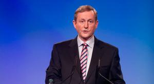 NOW A MAN WITH NO POLITICAL FRIENDS: Former Taoiseach Enda Kenny has become somewhat of a mystery to his former Fine Gael colleagues who no longer hear from him. Picture: Barry Cronin
