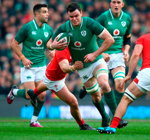 James Ryan in action Photo: Getty
