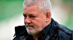 Wales boss Warren Gatland expecting Ireland to win the Six Nations championship Photo: Getty