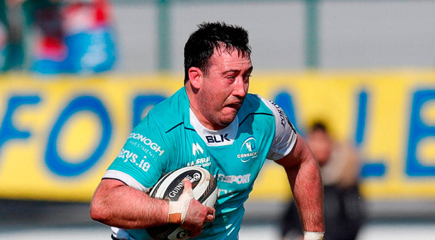 Connacht's Denis Buckley in action during yesterday's win over Benetton Photo: Sportsfile