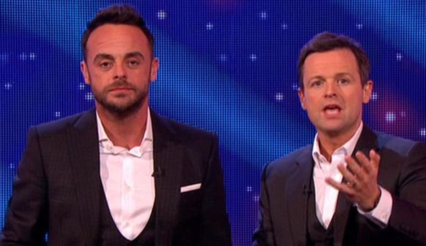 Ant McPartlin made a spectacular return to TV. Photo: ITV