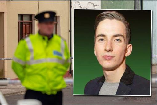 A murder investigation is underway after a Jimmy Loughlin (inset) was found dead at a house in Sligo