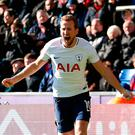 Tottenham Hotspur's Harry Kane celebrates