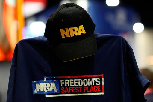 The NRA does not support Mr Trump's proposals to raise the age limit for buying certain types of guns and to ban bump stocks that enable semi-automatic rifles to shoot hundreds of rounds a minute. Photo: REUTERS/Joshua Roberts