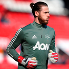 Manchester United's David De Gea. Photo: Reuters