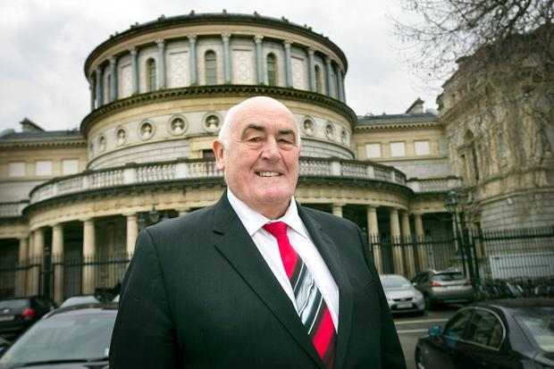 Chicago-based Senator Billy Lawless pictured in Dublin last week. Photo: Tony Gavin