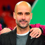 Manchester City's Spanish manager Pep Guardiola. Photo: Getty Images