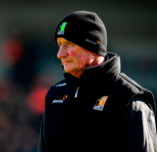 Kilkenny manager Brian Cody looks on. Photo: Brendan Moran/Sportsfile