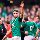 Conor Murray of Ireland following the win over Wales