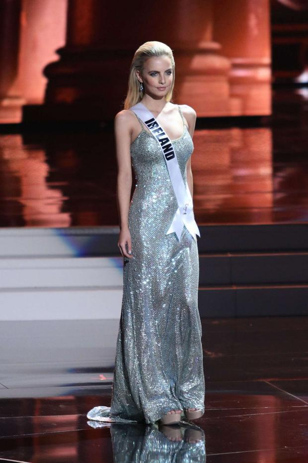 Joanna Cooper represented Ireland at Miss Universe in 2015