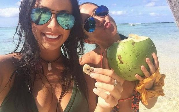 Melina Roberge and Isabelle Lagacé admitted to smuggling cocaine into Sydney Credit: Instagram