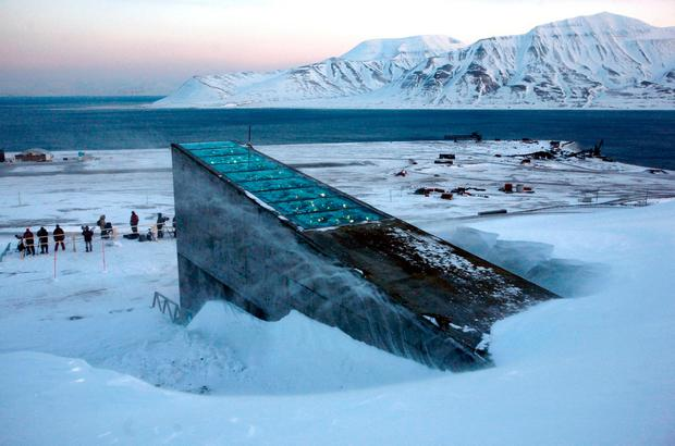 The Svalbard Global Seed Vault, in the Arctic circle
