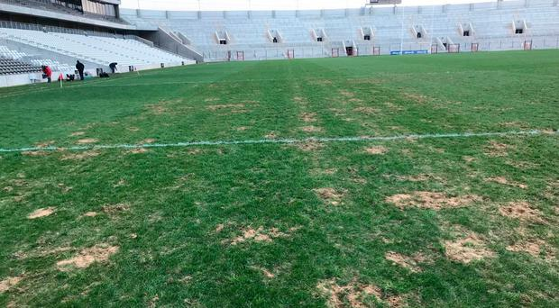 The pitch at Pairc Ui Chaoimh.