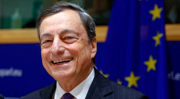 President of the European Central Bank Mario Draghi has indicated he will not present any blockage to legislation regulating so-called vulture funds.
