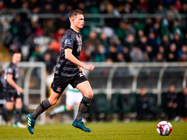 Former Liverpool youth star Daniel Cleary should make his home debut for Dundalk tonight. Photo by Seb Daly/Sportsfile