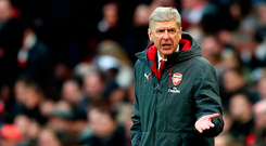 It looks like Arsene Wenger's exit is a matter of when not if. Photo by Catherine Ivill/Getty Images