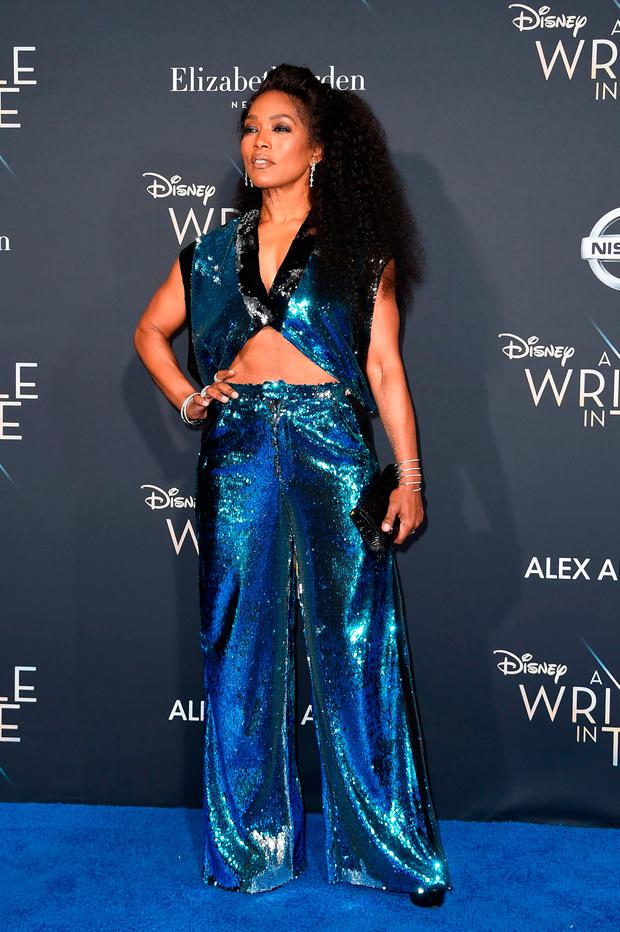 Actress Angela Bassett attends the premiere of Disney's