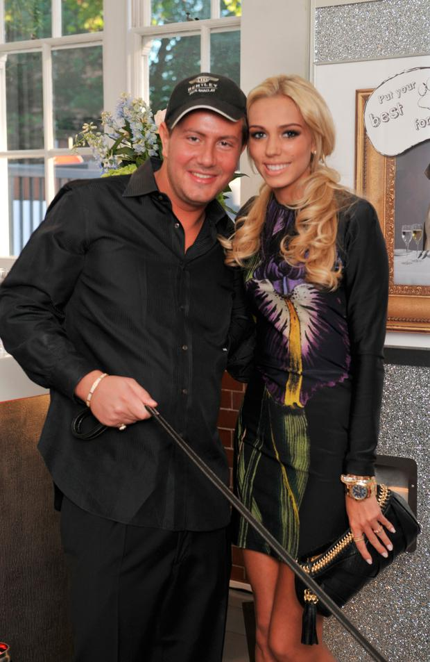 James Stunt and Petra Ecclestone attend the Dogs Trust Honours Awards at Jasmine Studios on June 3, 2010 in London, England. (Photo by Nick Harvey/WireImage)