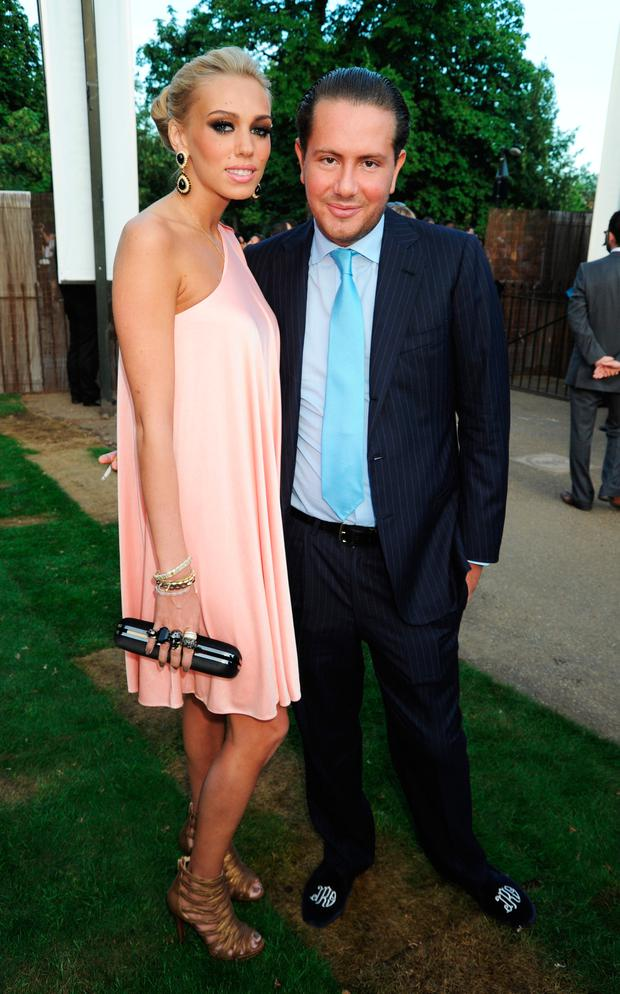 Petra Ecclestone and James Stunt attend The Serpentine Gallery Summer Party on July 8, 2010 in London, England. (Photo by Dave M. Benett/Getty Images)