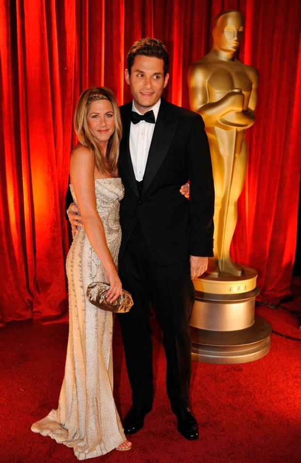 Jennifer Aniston and John Mayer at the 2009 Oscars
