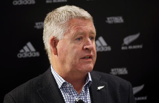 New Zealand Rugby Union CEO Steve Tew. (Photo by Michael Bradley/Getty Images for adidas)