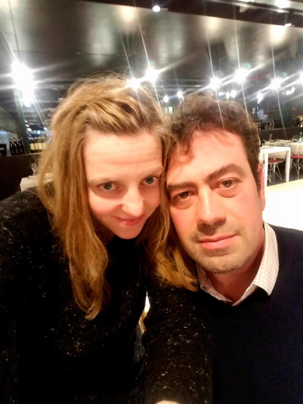 Michaela Bowden and her husband are currently stranded in Milan, Italy
